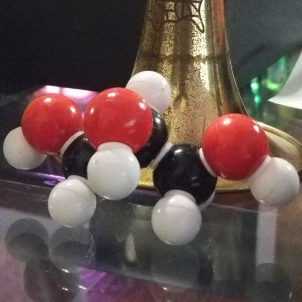 Glycerine Molecule