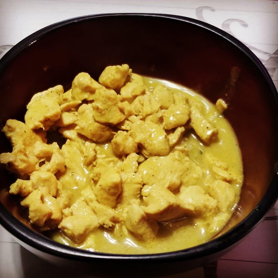 Creamy Curry Chicken