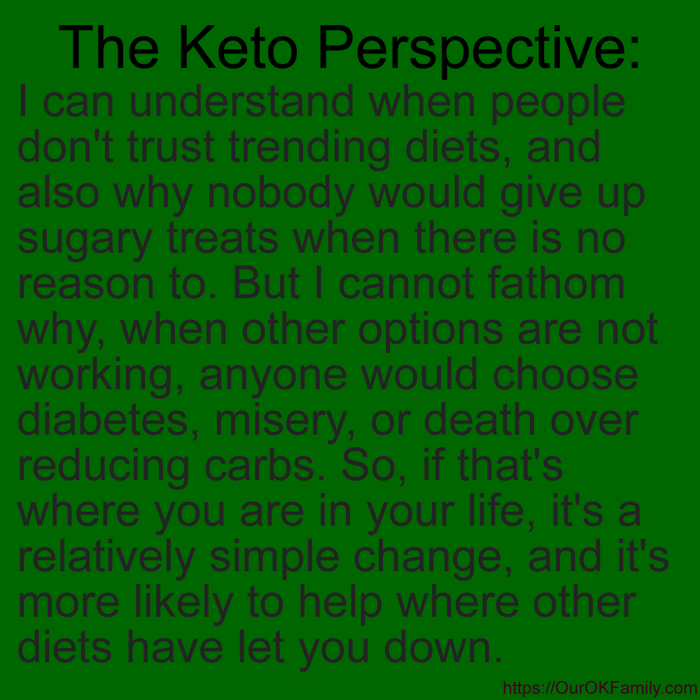 The Keto Perspective #1